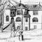 Skizze des Haupthauses der Hachschara-Stätte Ahrensdorf