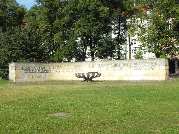 Rundgang Jüdische Gemeinde Potsdam: Station 5 - Denkmal für die Opfer des Faschismus